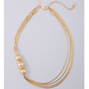 🆕WHBM MULTI-STRAND NECKLACE